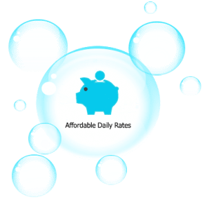 affordable daily rates